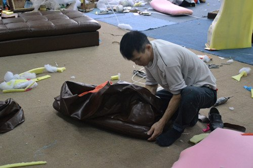 Bọc sofa chất liệu vải sofitell