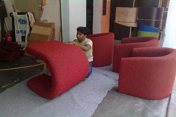 Bọc sofa vải