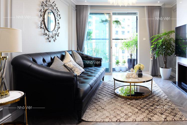 Thiết kế căn hộ thiết kế bán cổ điển tại chung cư Seasons Avenue