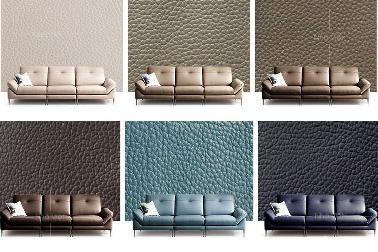 Bộ sofa da cho phòng khách chung cư hiện đại