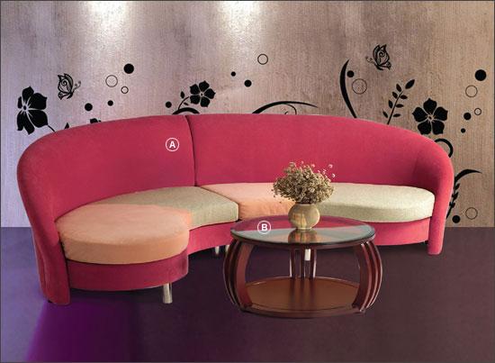 Sofa phong cách mã 555